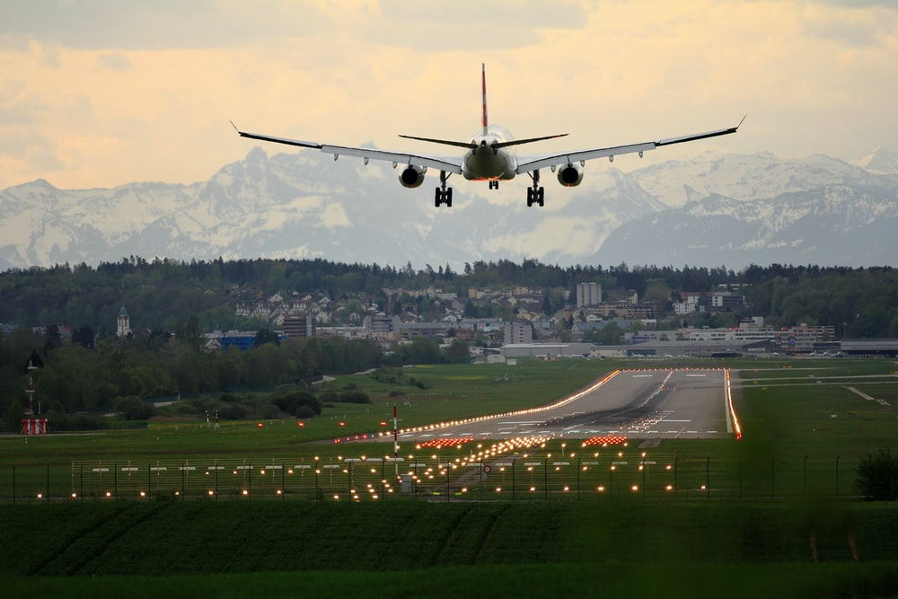 Connecting flight for visa application